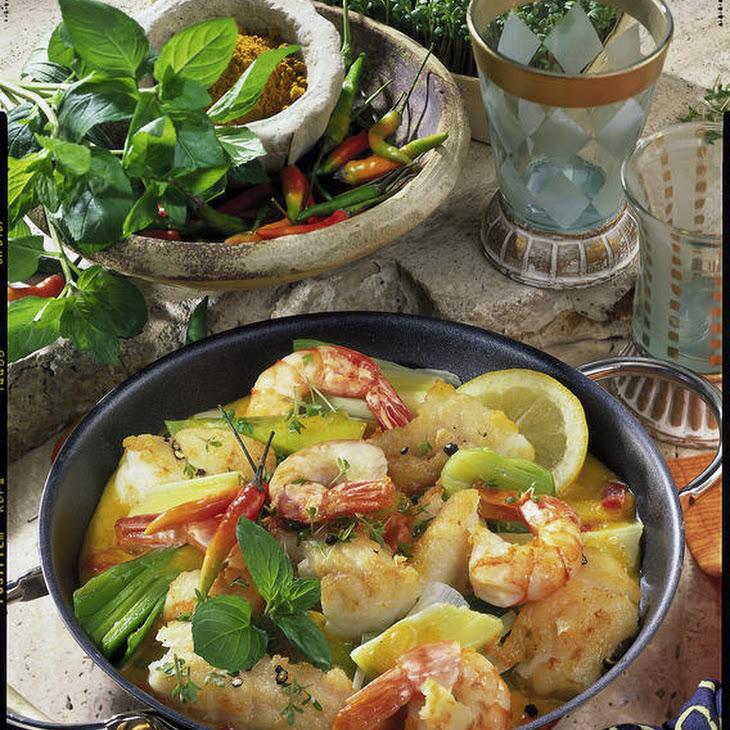 Prawn and Cod Curry
