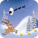 Run Games Reindeer Christmas icon