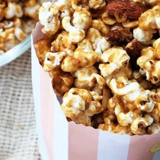 Homemade Easy Caramel Popcorn (Garrett).