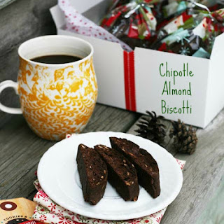 Chipotle Almond Biscotti