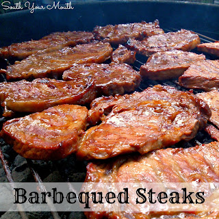 Barbequed Steaks.