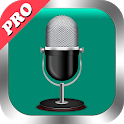 Voice Recorder Pro 🎙 High Quality Audio Recording icon