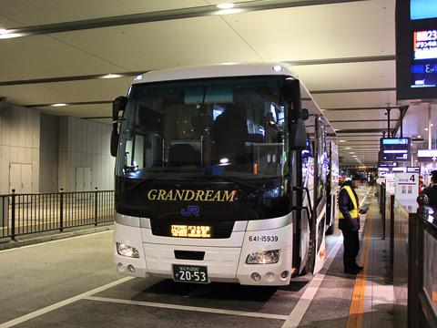 西日本JRバス「グラン中央ドリーム140号」 2053 大阪駅JR高速バスターミナル改札中
