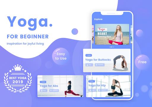 Yoga For Beginners - Yoga Poses For Beginners 3.5 screenshots 1