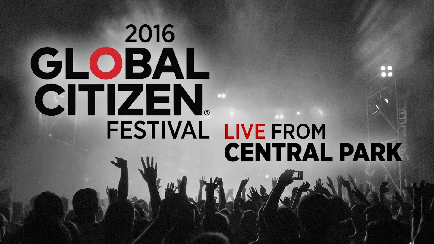 2016 Global Citizen Festival: Live from Central Park