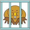 Mole Catcher Whack a mole icon