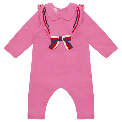 Primary image of Gucci Bow Babygrow