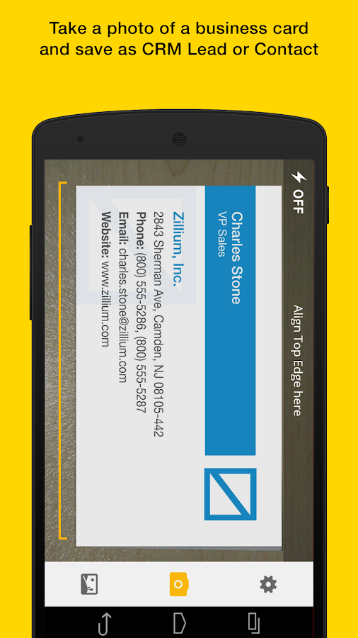 Card Scanner- screenshot