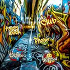 時尚塗鴉街頭藝術主題桌布 塗鴉壁紙 塗鴉圖標包 icon