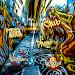 Fashion Graffiti Street Art Icon