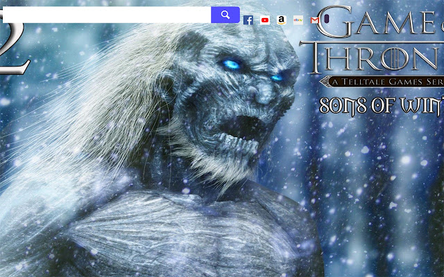 Game of Thrones Game HD Wallpapers New Tab