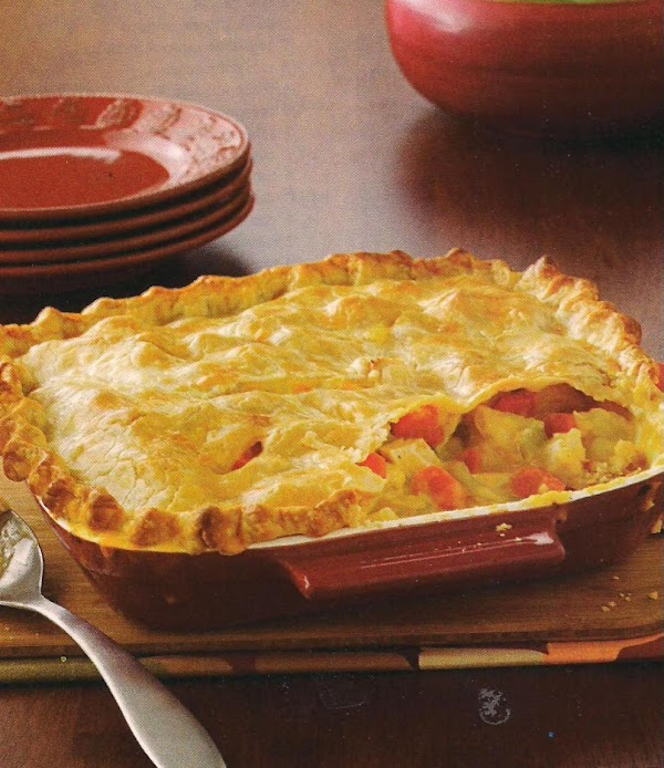 Cheddar Chicken Pot Pie Recipe