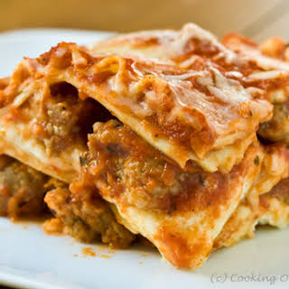 Three-Layer Lasagna.