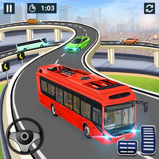 City Coach Bus Simulator 2020 - PvP Free Bus Games