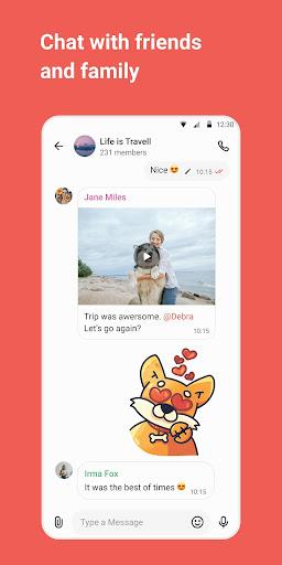 gem4me - messenger and group chats screenshot 3