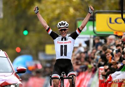 Soren Kragh Andersen zet BORA een hak en wint etappe 14 in Tour