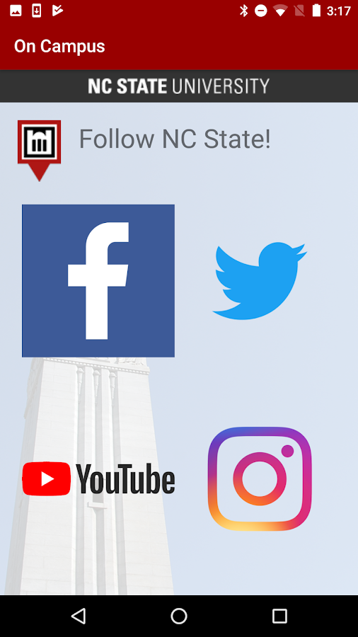 NC State On Campus- screenshot