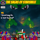 The Sagas of Starsville #1, Journey to a new home.