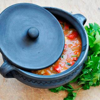 Vegetarian Hungarian Paprikash | Vegetable Stew with Dumplings Recipe
