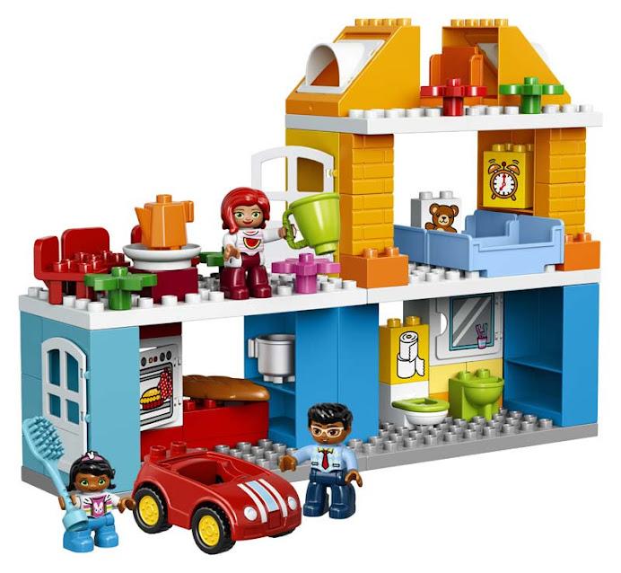 Contenido de Lego® 10835 Casa Familiar