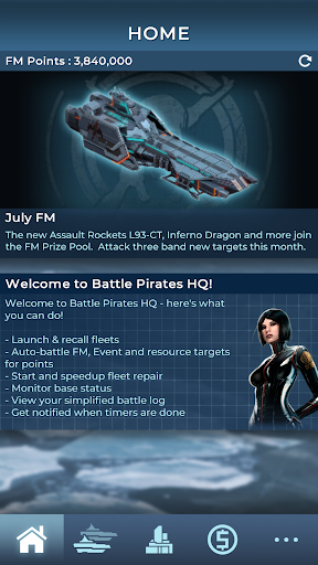 Battle Pirates HQ - screenshot
