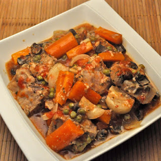 Slow Cooker Pork Stew.