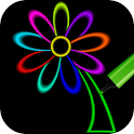 Neon Doodle Drawing Book icon