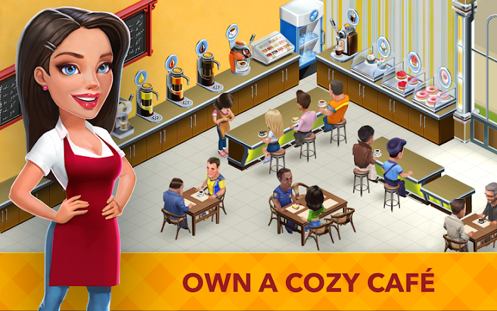 My Cafe: Recipes & Stories v2017.3.2 [Mod Money]