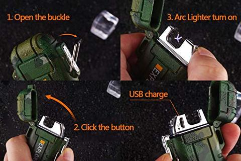 USB Charging Silent Lighter