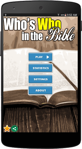 Who's who in the Bible Trivia