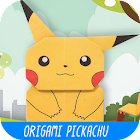 Origami Pickachu icon