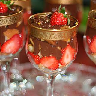 Strawberry Banana Trifle.