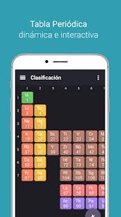 Tabla peridica tamode aplicaciones en google play captura de pantalla urtaz Choice Image