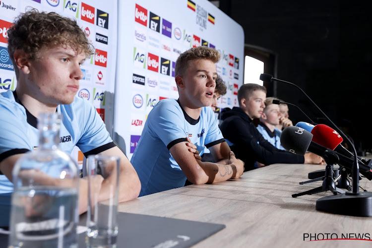 """Thibau Nys gelooft vooral in potentieel hele Belgische selectie op WK: """"Ik een favoriet? Dat is nogal sterk uitgedrukt"""""""