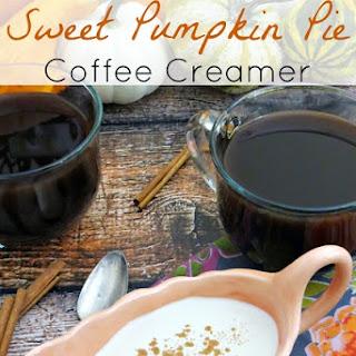 Sweet Pumpkin Pie Coffee Creamer.