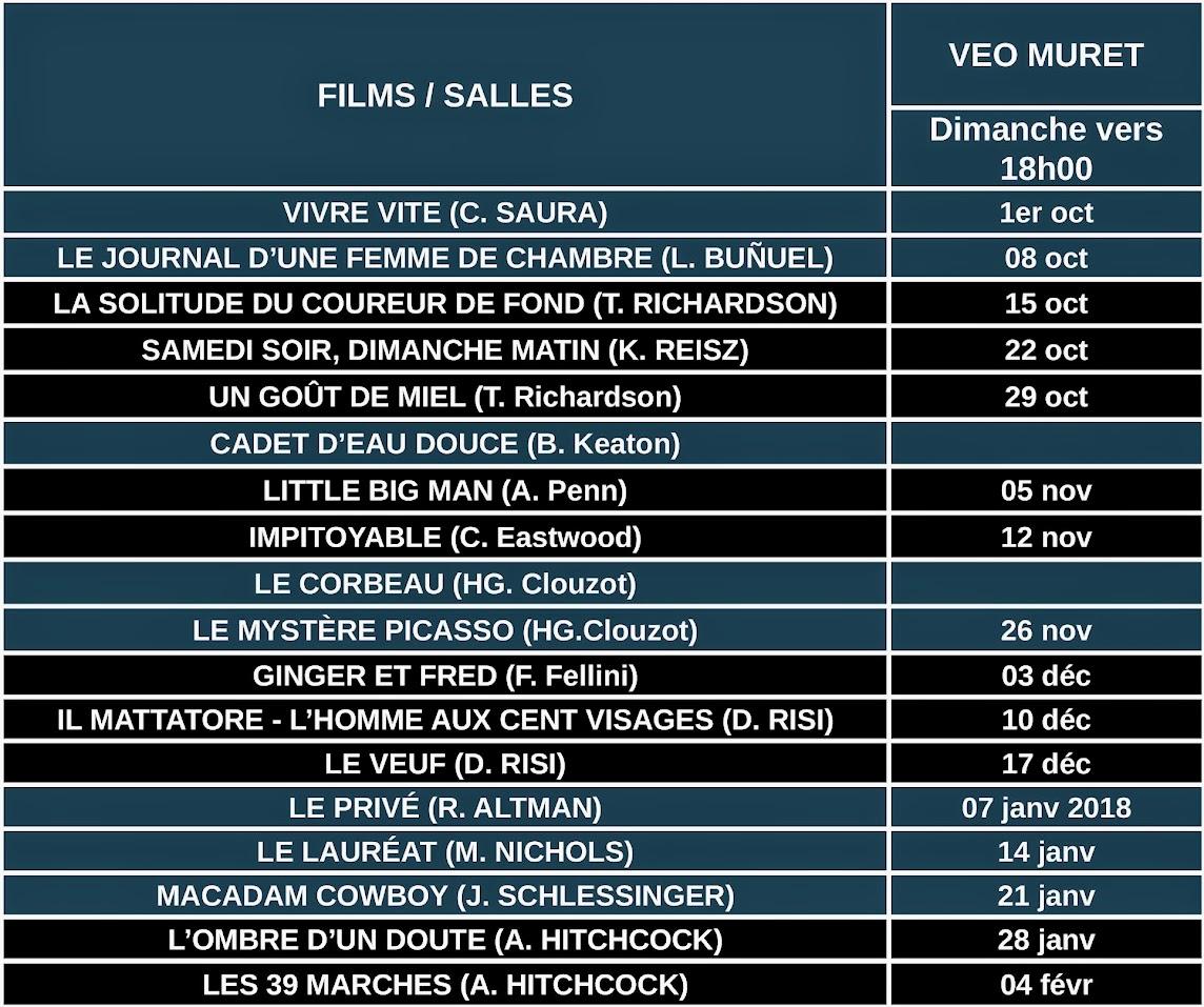Calendrier Ciné-Classique