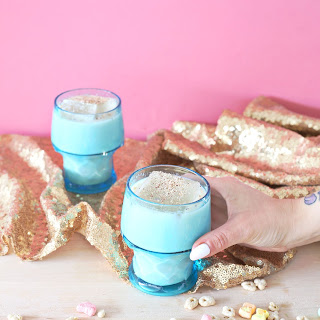 Lucky Charms Cereal Milk Punch.