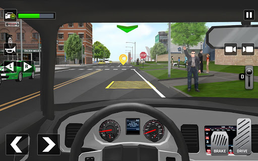 City Taxi Driving: Fun 3D Car Driver Simulator screenshots 7