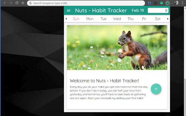 Nuts Habit Tracker