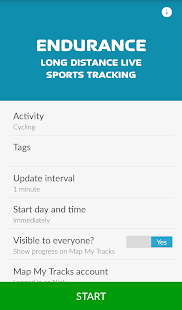 Map My Tracks Endurance screenshot