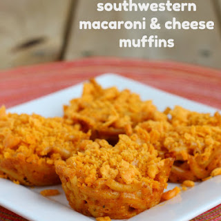 Southwestern Mac & Cheese Muffins
