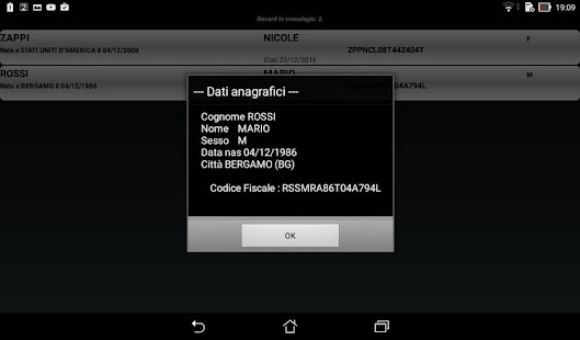 Codice Fiscale- screenshot thumbnail