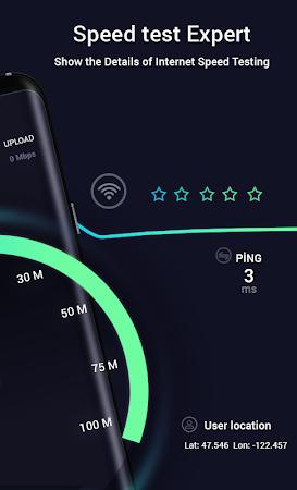 Internet Speed Test  - Wifi & 4G, 3G Speed check 1.6 screenshot 2092871