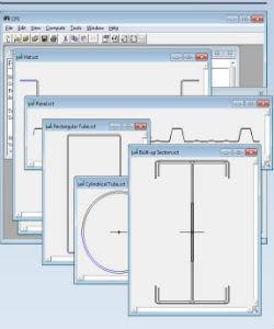 Phần mềm tính thép hình RSG CFS