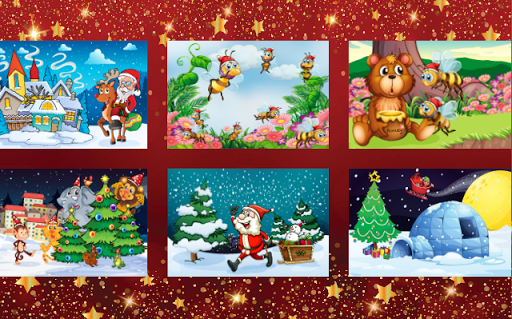 Christmas Color & Scratch for kids & toddlers ☃ 2018.24 screenshots 13