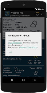 Weather forecast for week screenshot 6