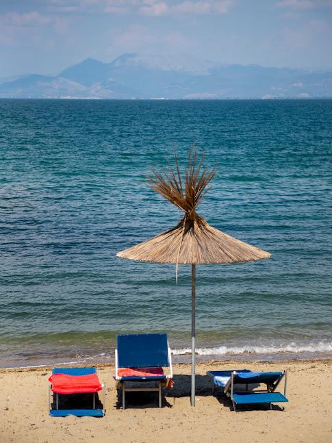 plaża na półwyspie Rodonit
