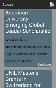 Scholarships Finder- screenshot thumbnail