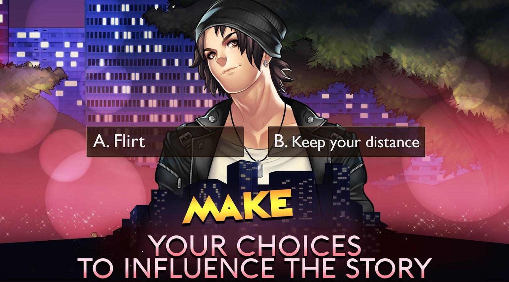 how do you make a dating sim