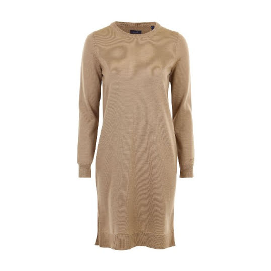Gant D1 Merino Wool Dress Wark Khaki. Storlek M